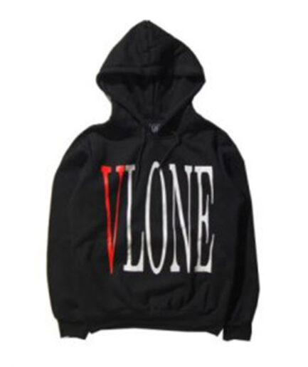 2016-Streetwear-Black-White-Vlone-Hoodie-Men-Women-Fashions