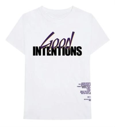 Good Intentions Vlone White Tee