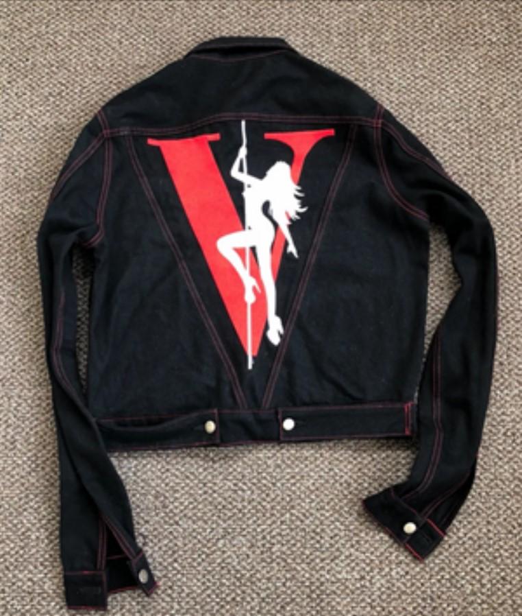 VLONE Stripper Denim Jacket