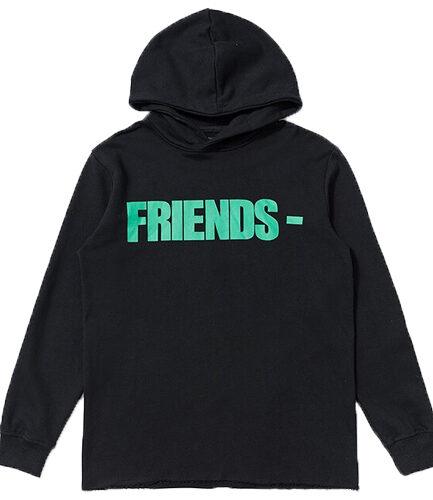 Vlone Friends Black Hoodie