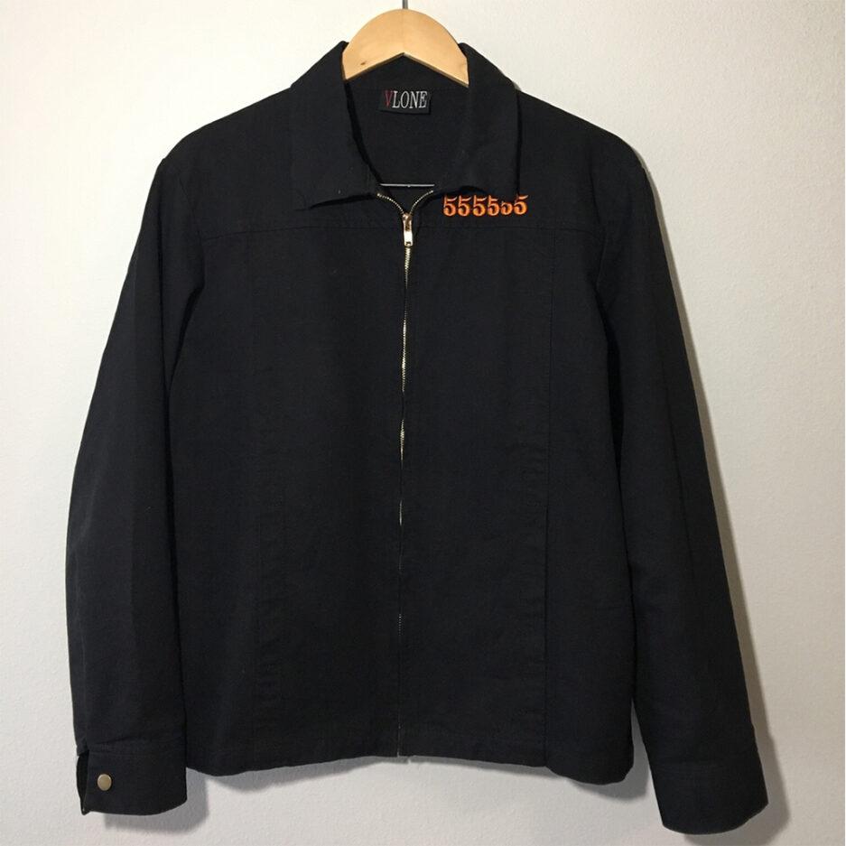 Vlone 5555 Jail Black Jacket