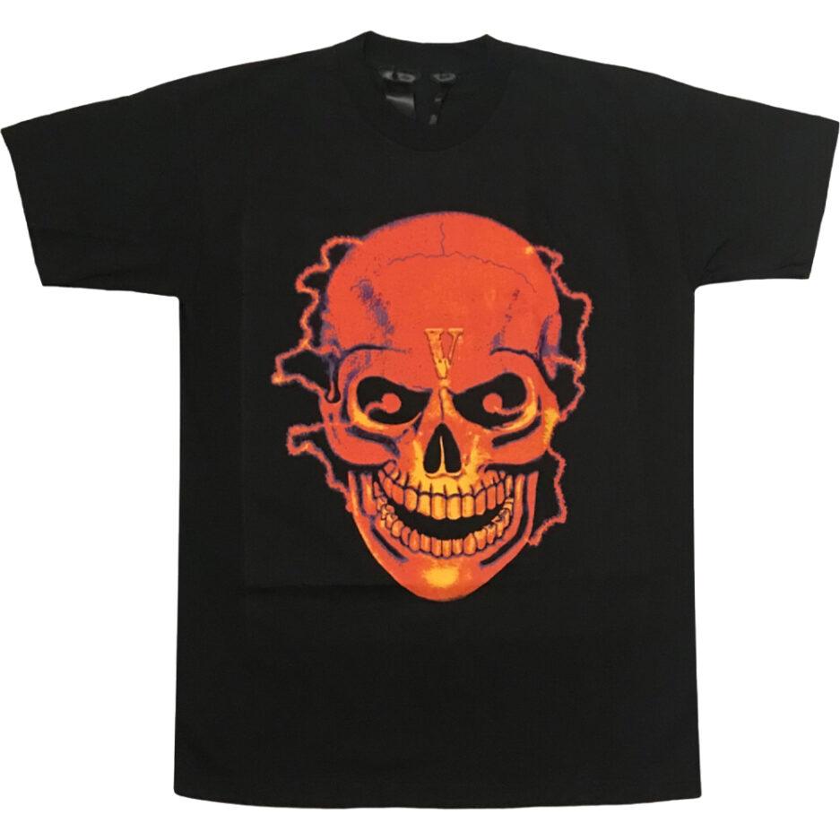 Vlone Shocker Skull Black T-Shirt