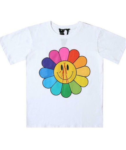 VLONE WHITE SUNFLOWER T-SHIRT