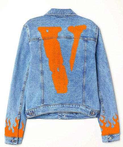 VLONE custom denim jacket