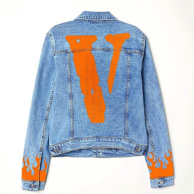 VLONE custom denim jacket