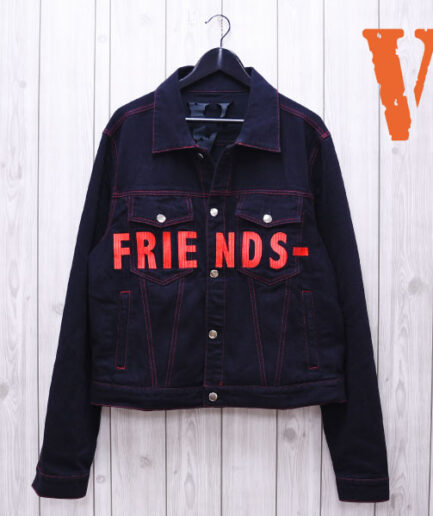 VLONE Denim Friends Jean Jacket