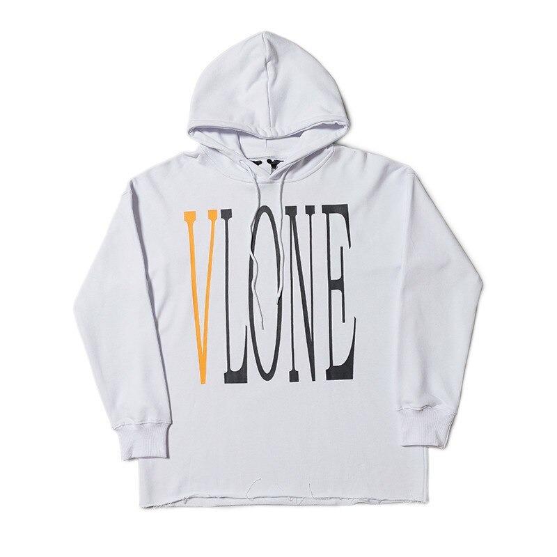 Vlone Staple Design Fashion White Hoodies