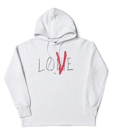Vlone Love Men Women Designer Hoodies
