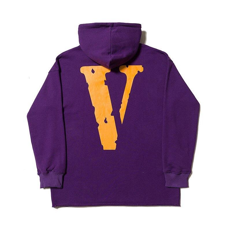 Vlone Friend Unisex Hoodie Purple