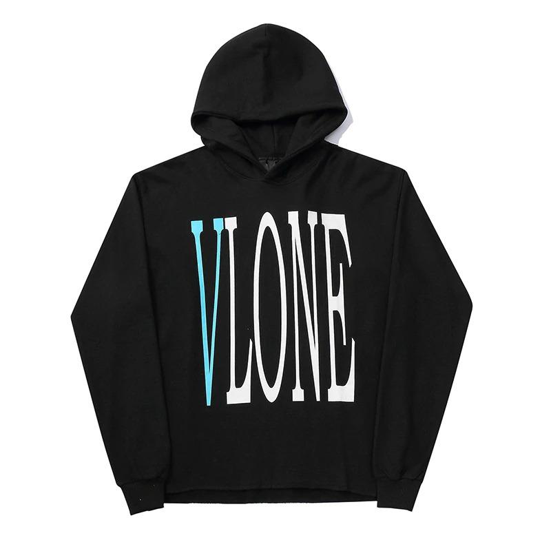 Vlone Staple Friend Pullover Black Hoodie