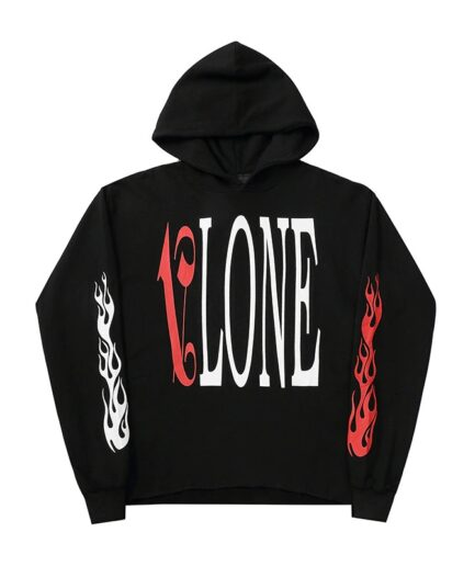 VLONE Hoodies Cotton Hip Hop Friends Streetwear Hoodies For Man