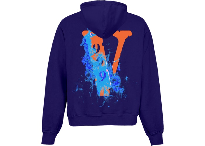 Juice WRLD x VLONE Hoodie Purple