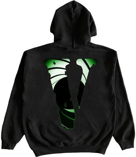 Juice WRLD x XO x VLONE Double Agent Black Hoodie