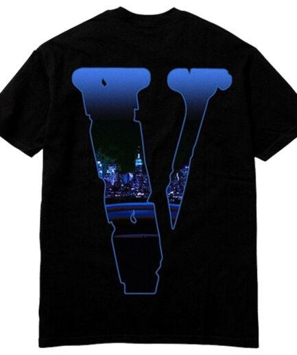 Pop Smoke X Vlone Armed And Dangerous Black T-Shirt