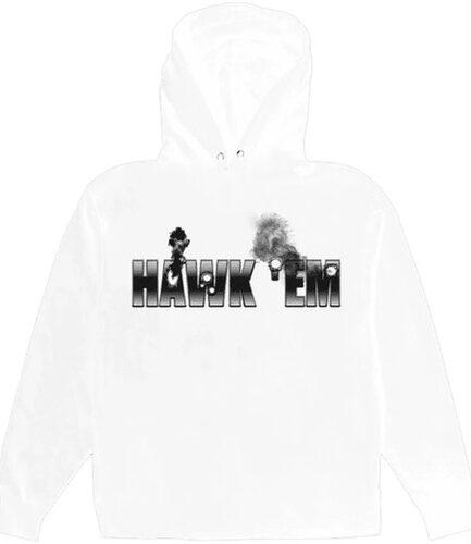 Pop Smoke x Vlone Hawk Em' Hoodie