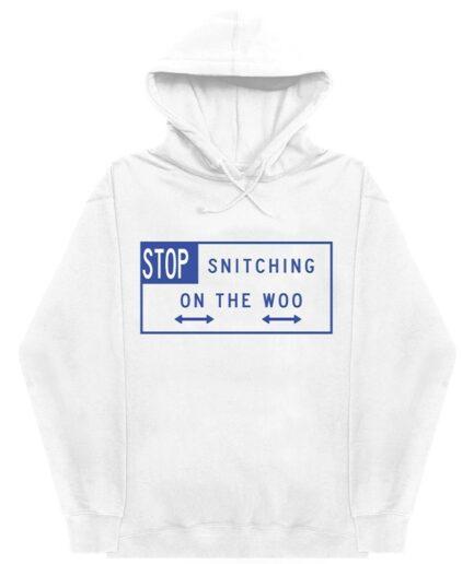 Pop Smoke x Vlone Stop Snitching Hoodie
