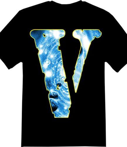 Juice Wrld x Vlone Cosmic Racer Black Tee