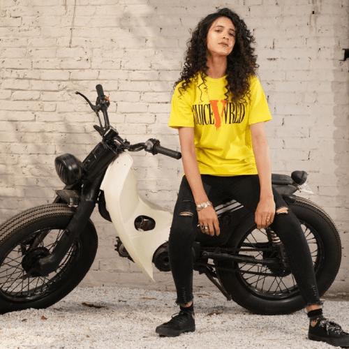 VLONE x Juice Wrld Yellow T-Shirt