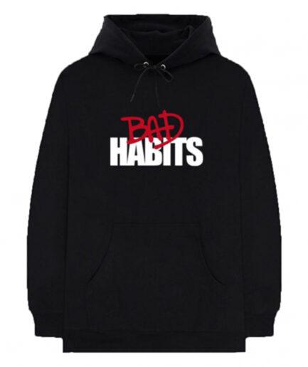 Nav x Vlone Bad Habits Black Hoodie