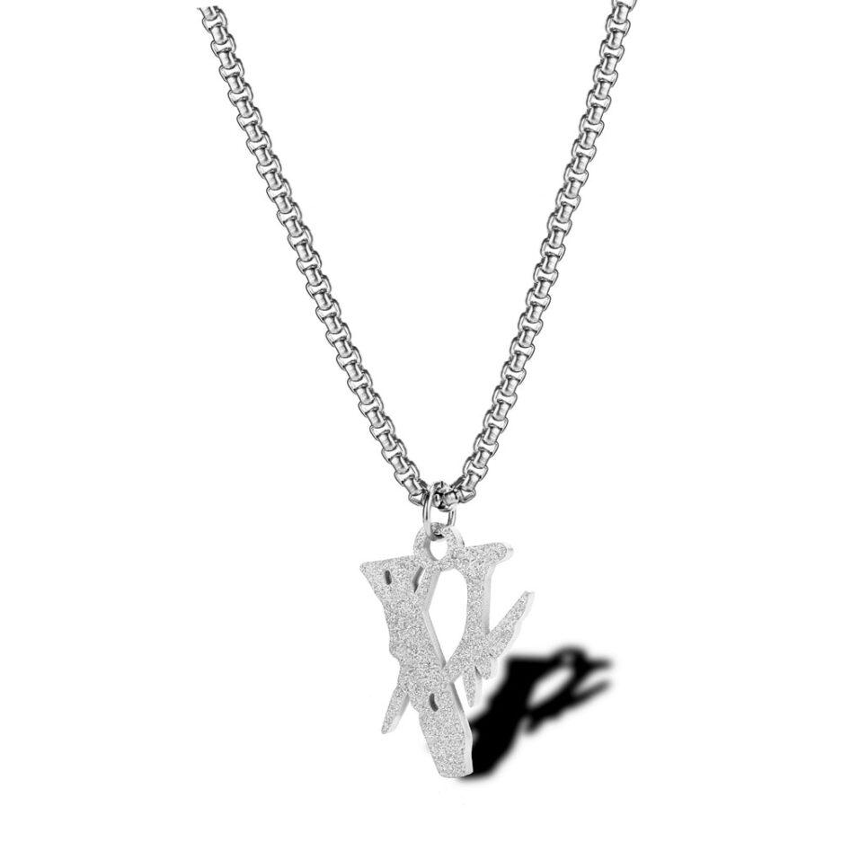 VLONE Lightning Popular Hip Hop Necklace