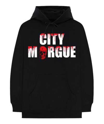 City Morgue X Vlone Dogs Black Hoodie