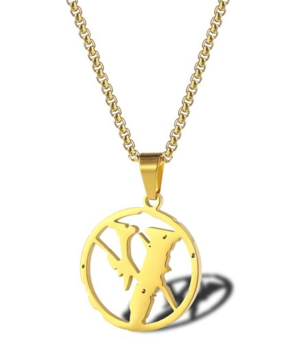 VLONE Stainless Steel Jewelry Necklace