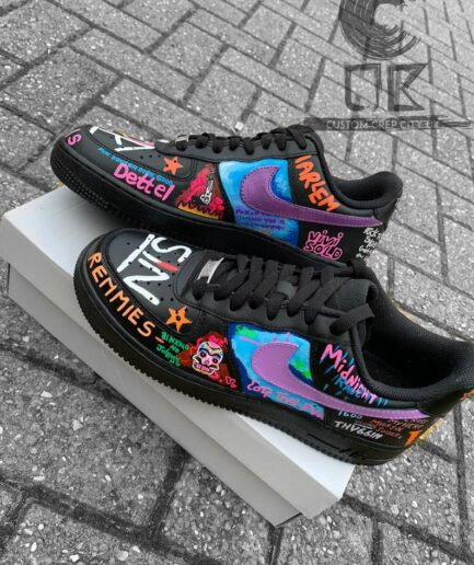VLONE Customs AF1 Play Boy Shoes