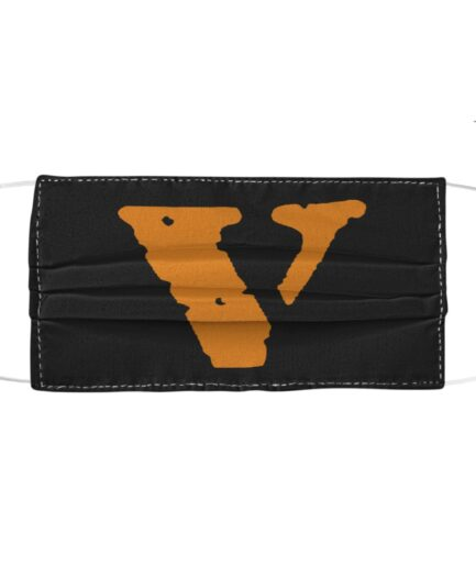 Vlone Cloth Black Face Mask