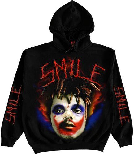 Juice Wrld x XO x Vlone Joker Black Hoodie