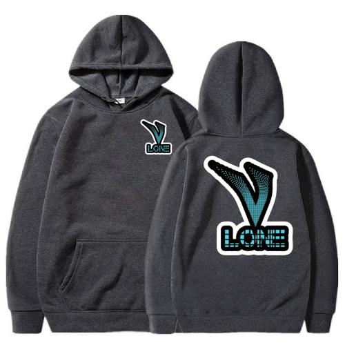 Vlone Classic 3D Printed black Hoodie