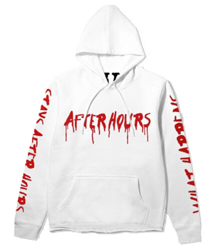 The Weeknd x Vlone After Hours Blood Drip Hoodie