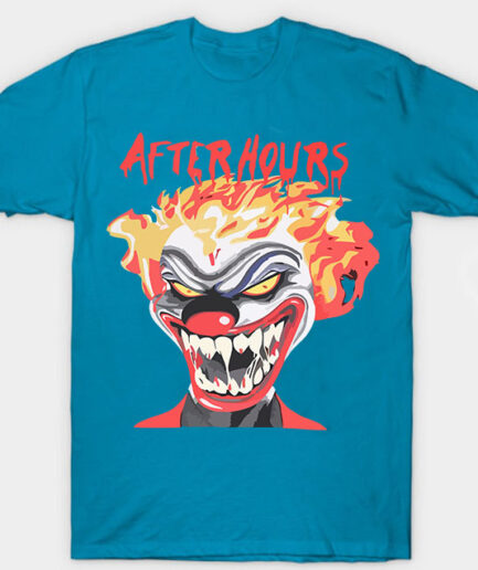 Vlone X Weeknd After Hours If I OD Clown Tee Blue