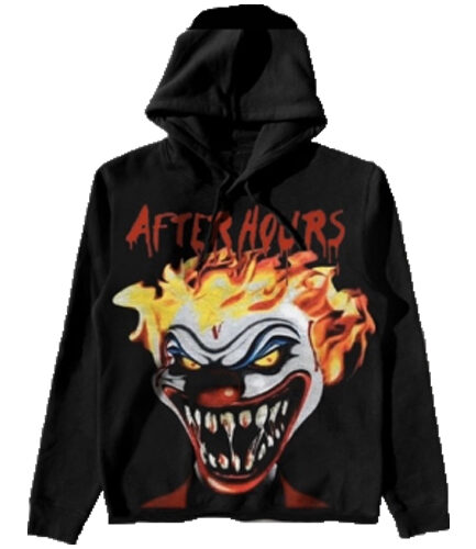 Vlone x The Weeknd After Hours Clown Hoodie