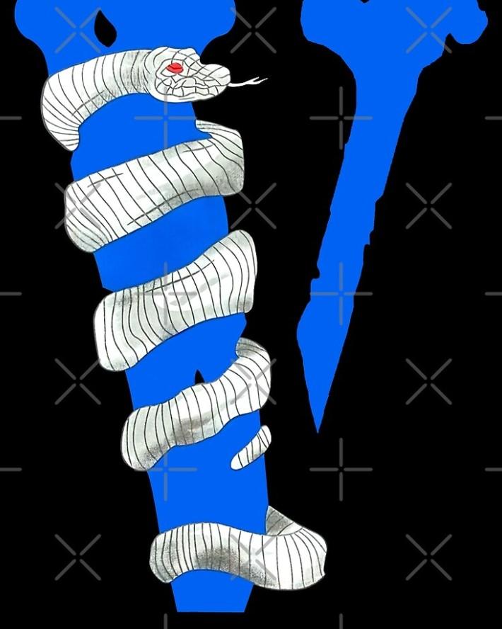 Vlone Friends Snake Staple Scarf