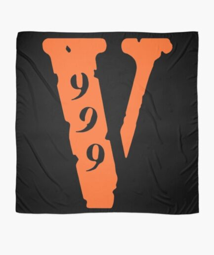 Vlone 999 Logo Scarf