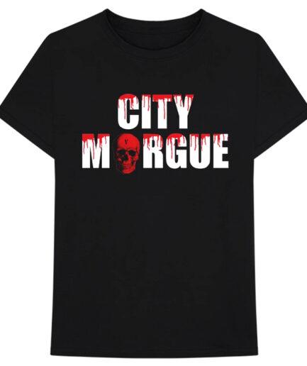 VLONE City Morgue Dogs T-Shirt Black