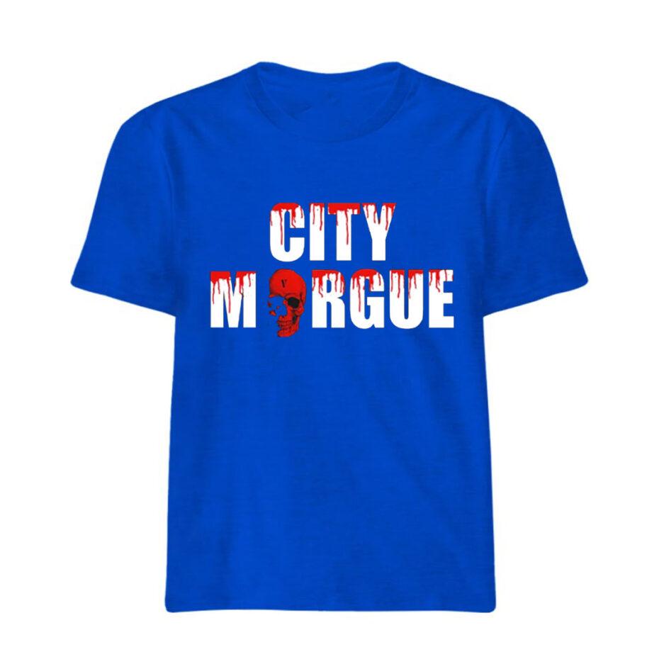 VLONE City Morgue Dogs T-Shirt Blue