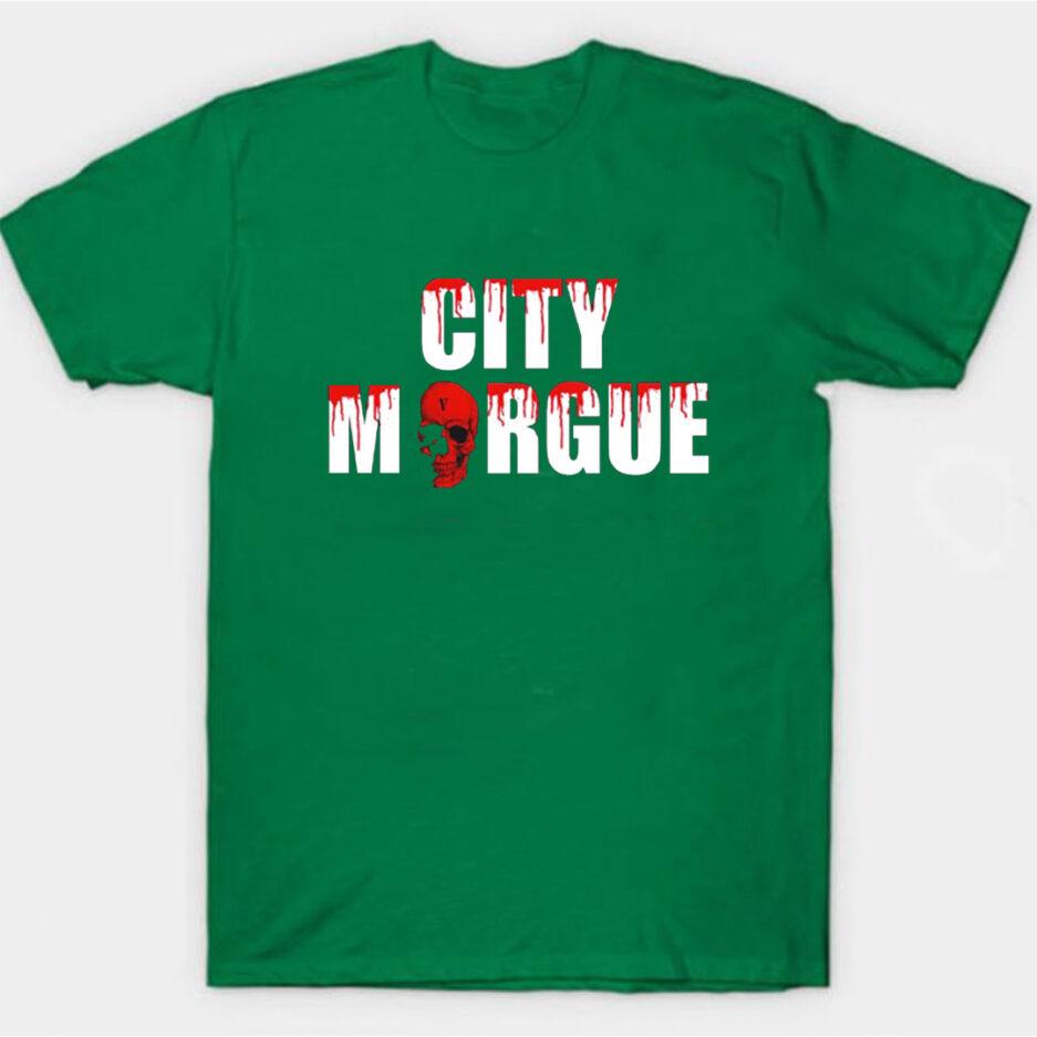 VLONE City Morgue Dogs T-Shirt Green