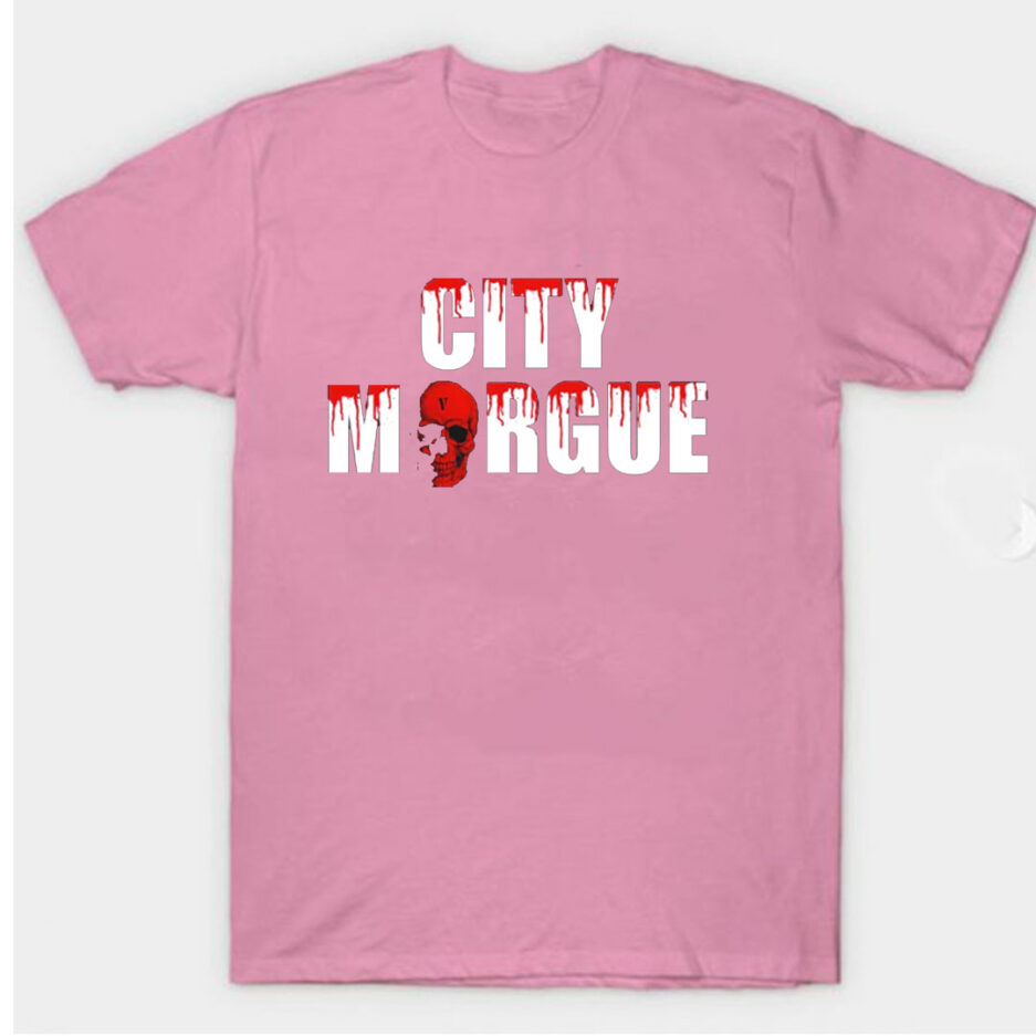 VLONE City Morgue Dogs T-Shirt Pink