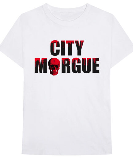 VLONE City Morgue Dogs T-Shirt White