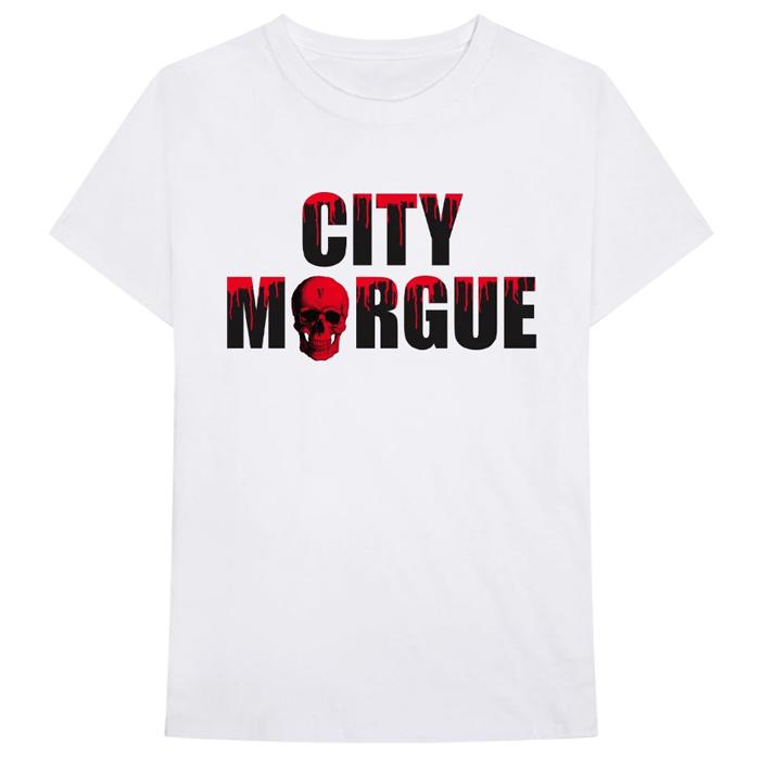 VLONE City Morgue Dogs T-Shirt White