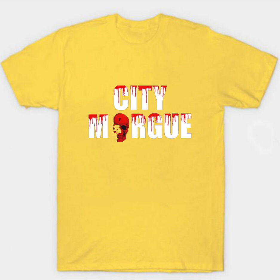 VLONE City Morgue Dogs T-Shirt Yellow