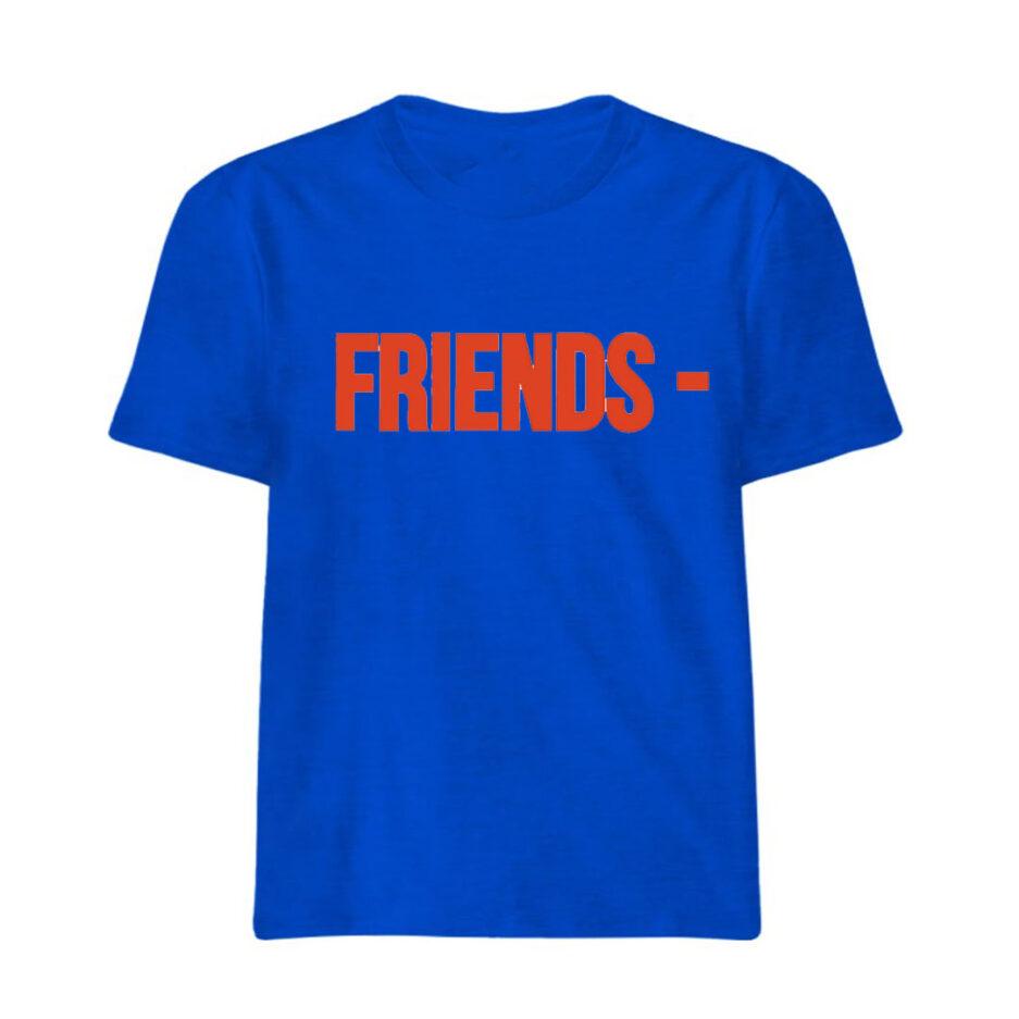 VLONE Stripper Denim Pop-up Exclusive T-Shirt Blue