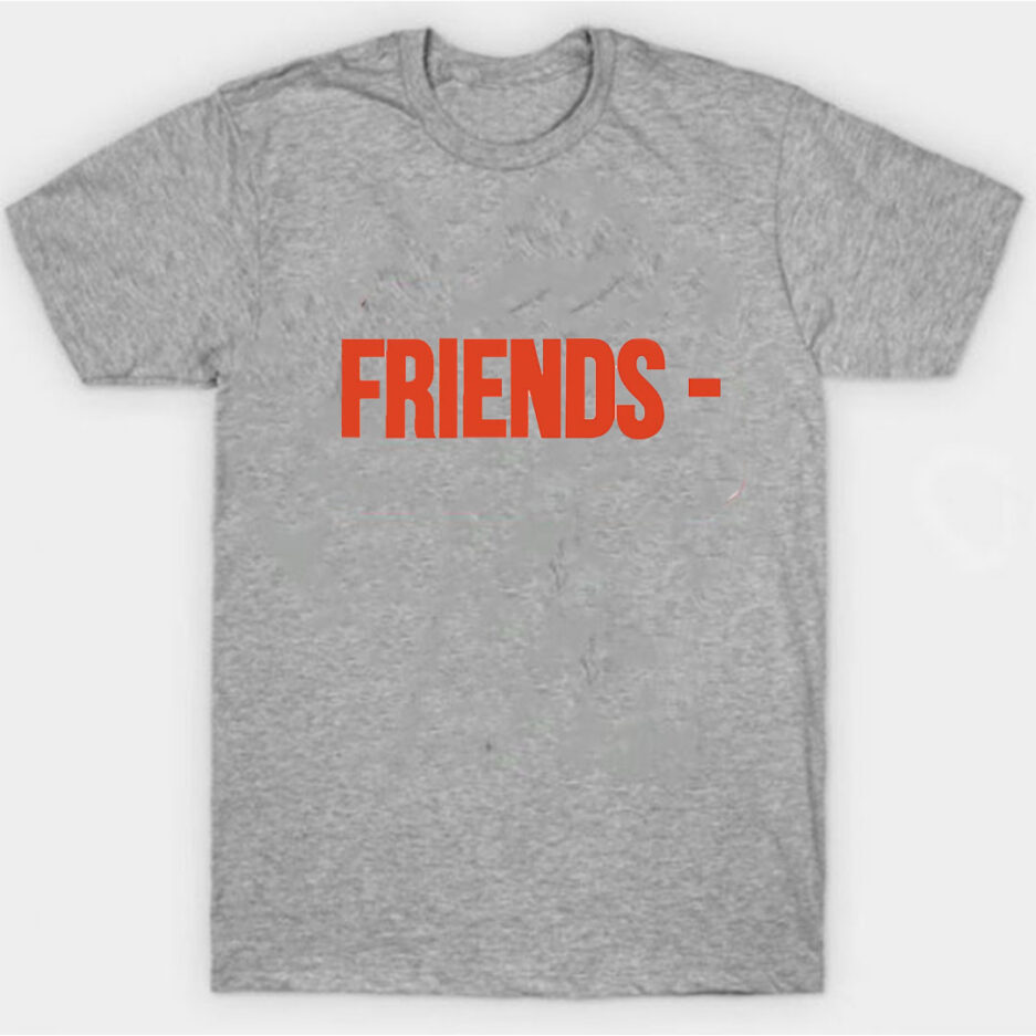 VLONE Stripper Denim Pop-up Exclusive T-Shirt Gray