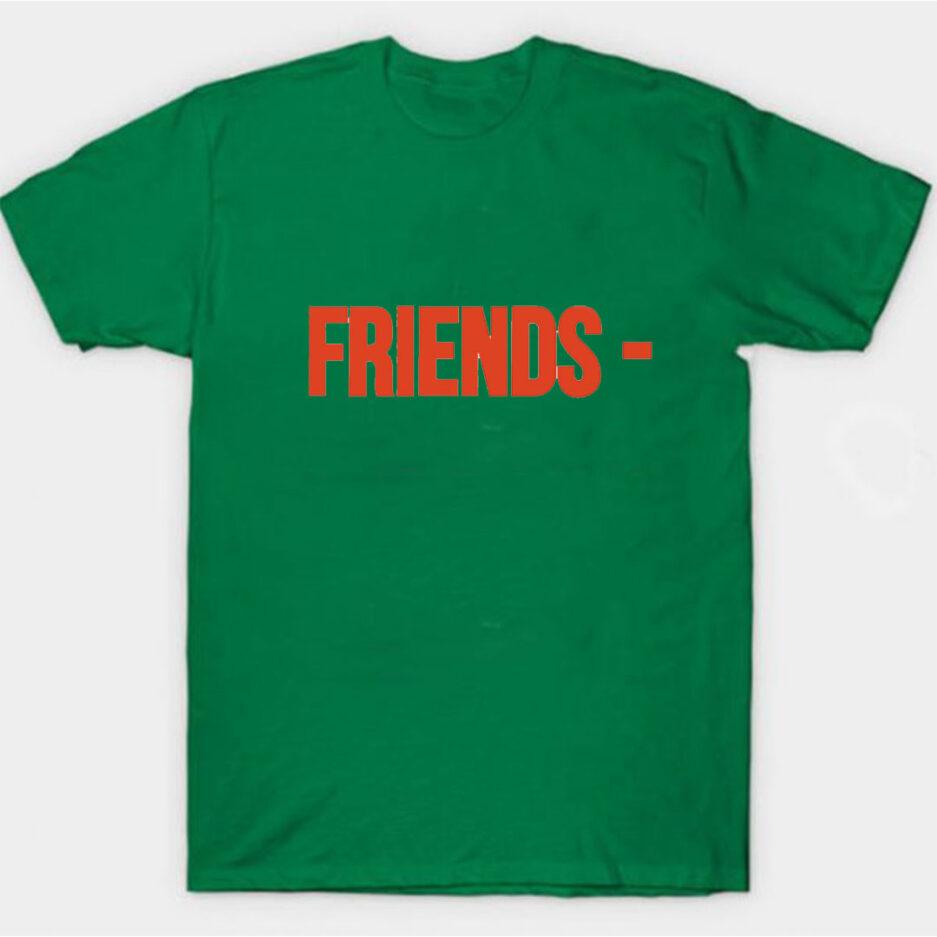 VLONE Stripper Denim Pop-up Exclusive T-Shirt Green