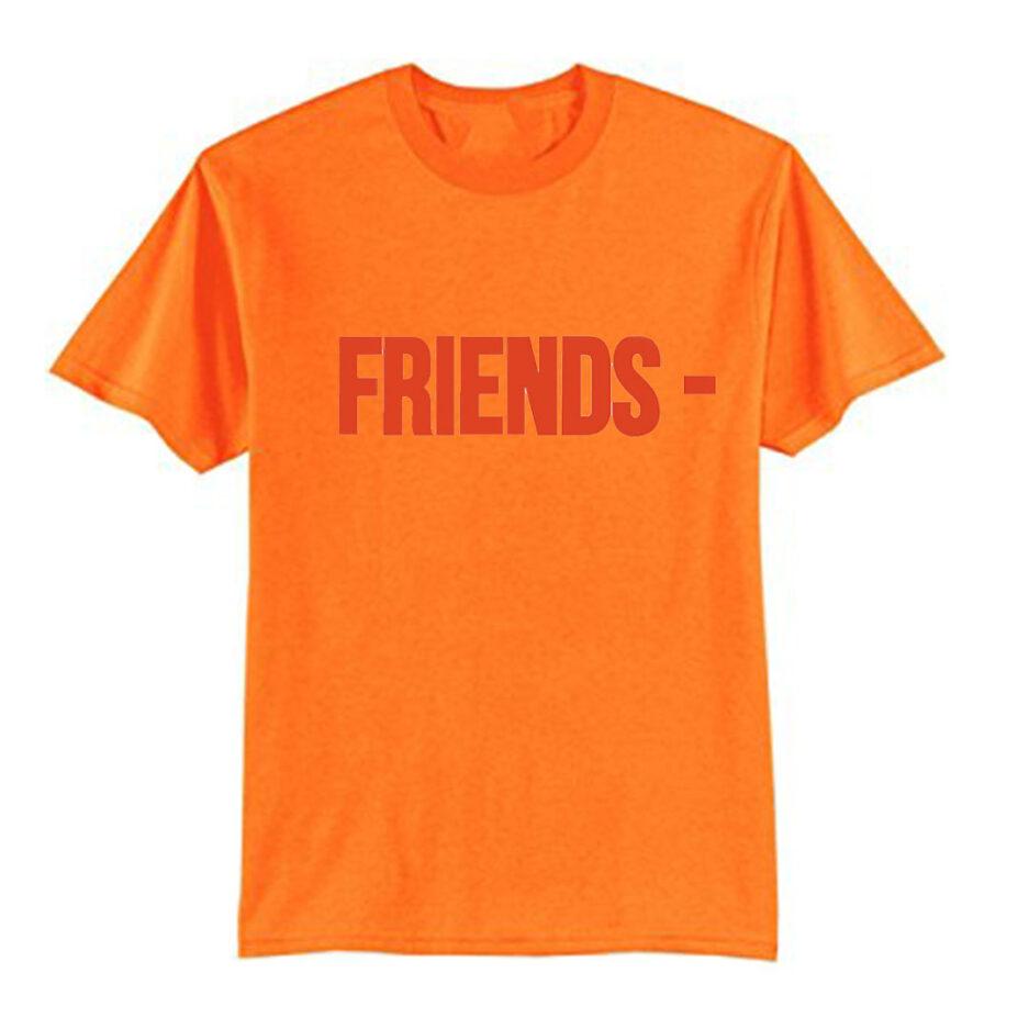 VLONE Stripper Denim Pop-up Exclusive T-Shirt Orange
