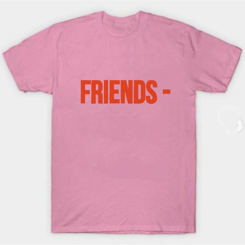 VLONE Stripper Denim Pop-up Exclusive T-Shirt Pink