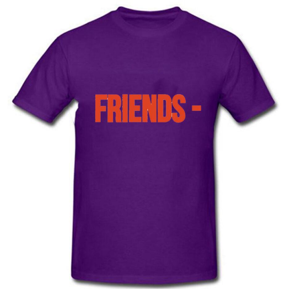 VLONE Stripper Denim Pop-up Exclusive T-Shirt Purple