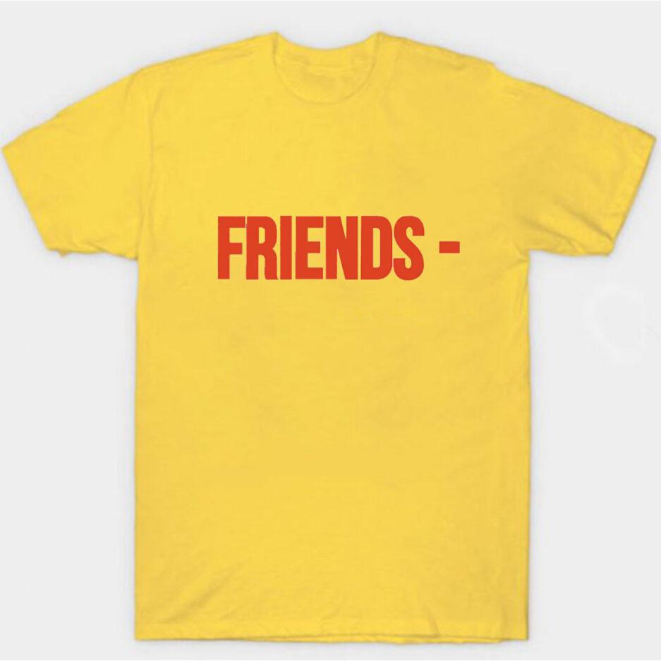 VLONE Stripper Denim Pop-up Exclusive T-Shirt Yellow