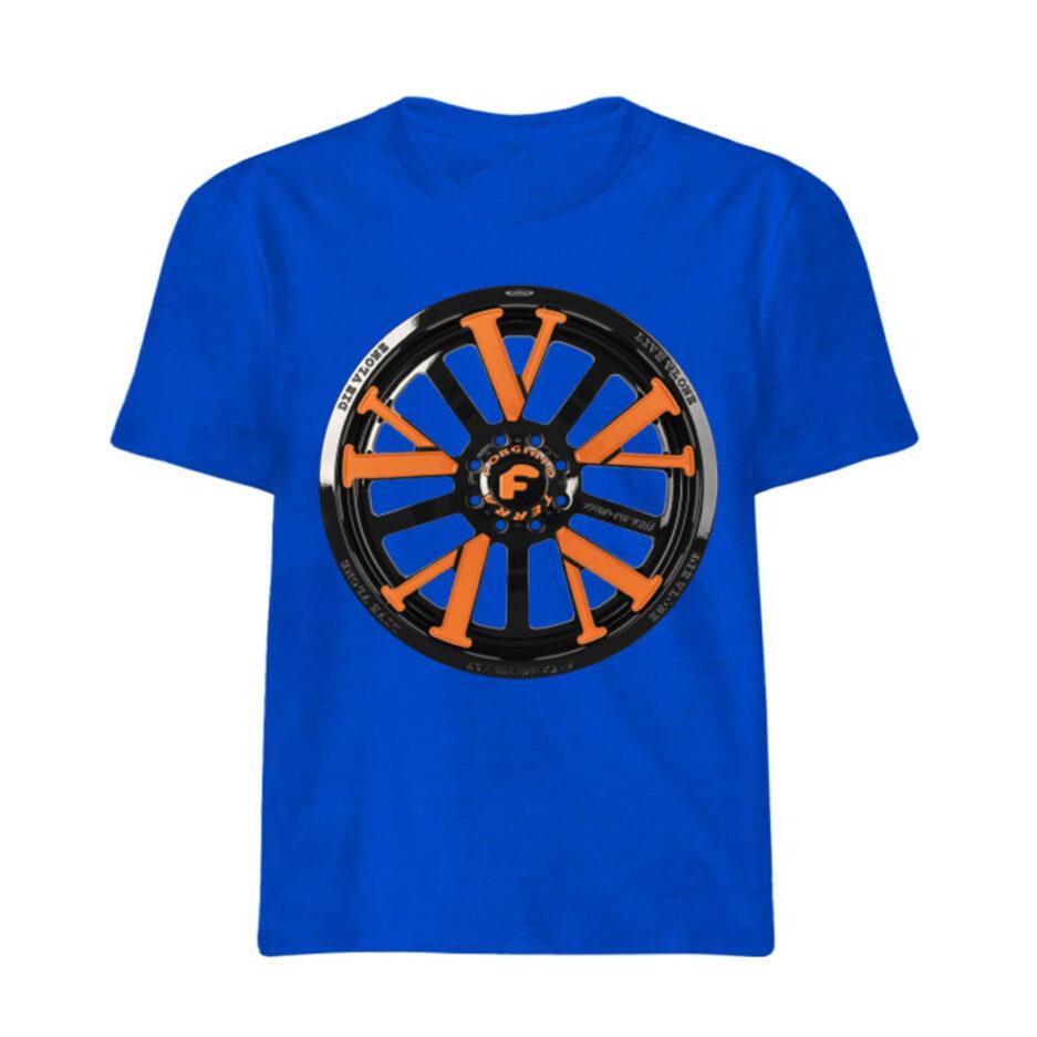 Vlone X Forgiato T-Shirt Blue